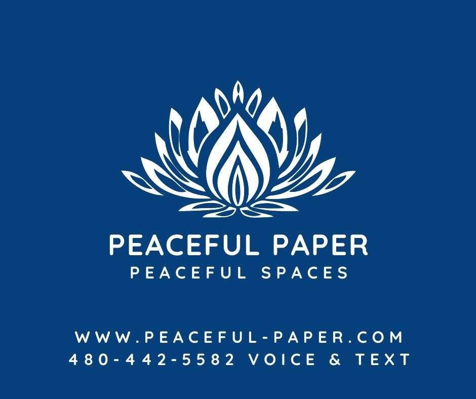 Peaceful Paper – Peaceful Spaces, Peaceful Paper LLC